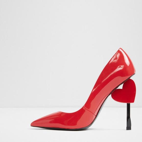 3ae3f3f7a4e5 Valentine Day Heart Red Cupid Shoe ALDO